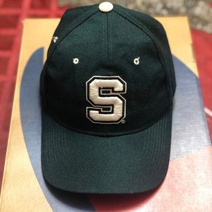 Vintage NCAA Michigan State Spartans fitted hat